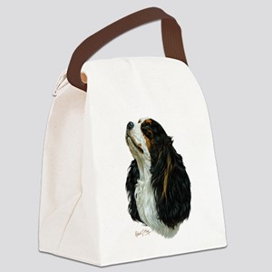 Cavalier King Charles Canvas Lunch Bag