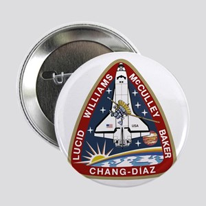 "STS-34 Atlantis 2.25"" Button"