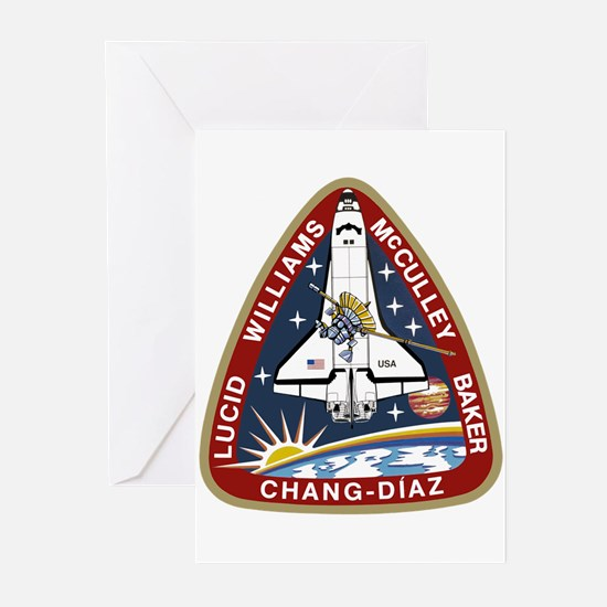 STS-34 Atlantis Greeting Cards (Pk of 10)