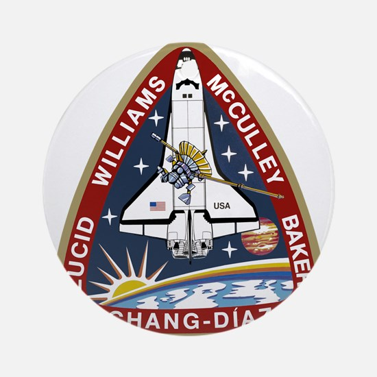 STS-34 Atlantis Ornament (Round)