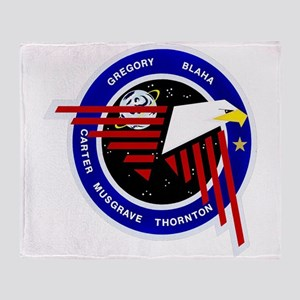 STS-33 Discovery Throw Blanket