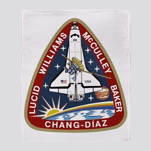STS-34 Atlantis Throw Blanket