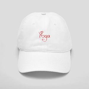 yoga-jel-red Baseball Cap