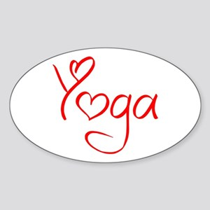 yoga-jel-red Sticker