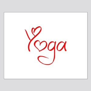 yoga-jel-red Posters