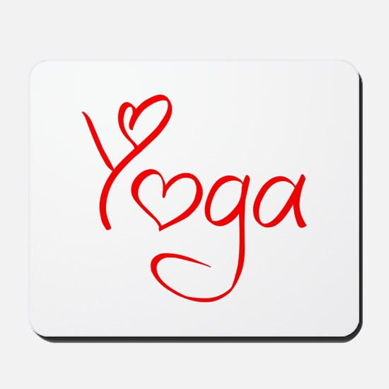 yoga-jel-red Mousepad