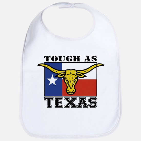 Tough as Texas Longhorn Bib