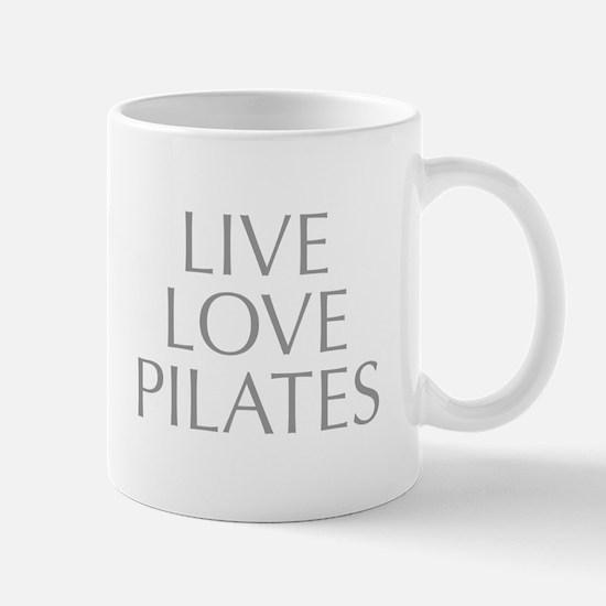 LIVE-LOVE-pilates-OPT-GRAY Mug