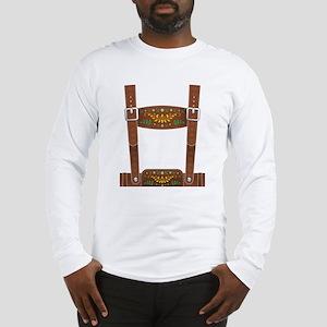 Lederhosen Oktobe Long Sleeve T-Shirt