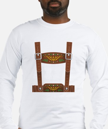 Lederhosen Oktobe Long Sleeve T-Shirt
