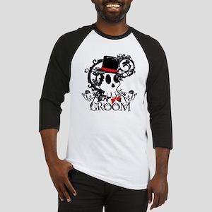 Skull Groom Baseball Jersey