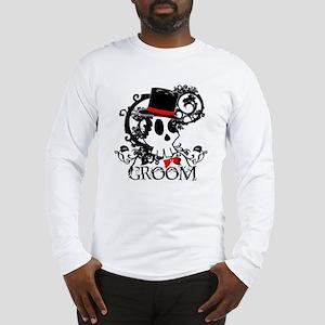 Skull Groom Long Sleeve T-Shirt