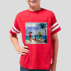Beach Babes Youth Football Shirt
