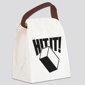 Hit It Cajon Canvas Lunch Bag