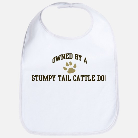 Stumpy Tail Cattle Dog: Owned Bib