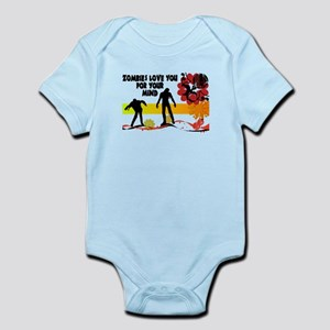 Zombies Love You For Your Mind Infant Bodysuit