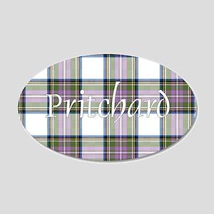 Tartan - Pritchard 20x12 Oval Wall Decal