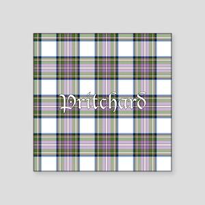 """Tartan - Pritchard Square Sticker 3"""" x 3"""""""