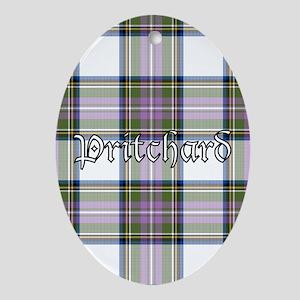 Tartan - Pritchard Ornament (Oval)