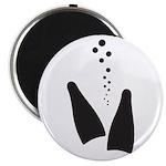 Fins & Bubbles Magnet