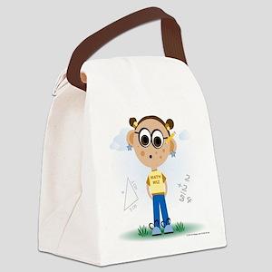 Math Wiz Canvas Lunch Bag