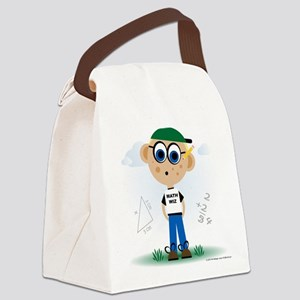 Math Wiz Canvas Lunch Bag