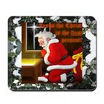 'Santa knelt' Mousepad