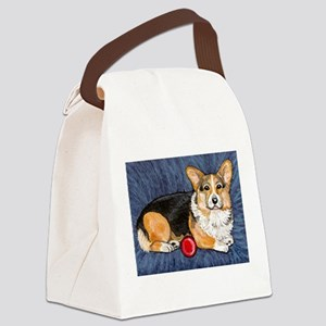 Tri with ball Canvas Lunch Bag