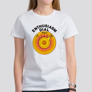 Enthusiasm Dial on High Women's T-Shirt