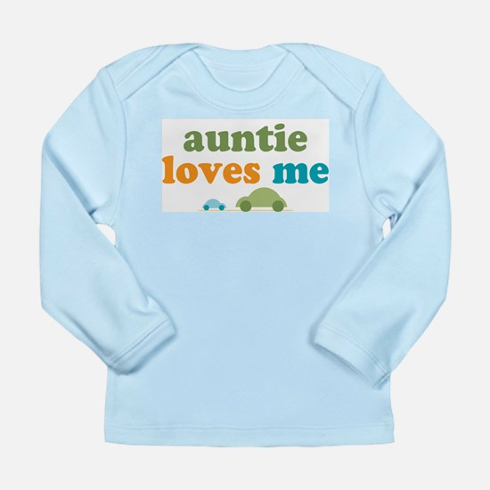 Aunti Loves Me Infant Long Sleeve T-Shirt