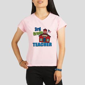 3rd Grade Teacher Performance Dry T-Shirt
