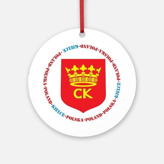 Kielce Ornament (Round)