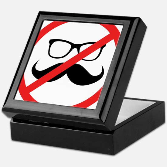 No Hipsters! Keepsake Box