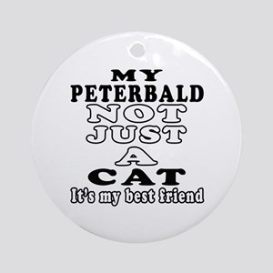 Peterbald Cat Designs Ornament (Round)