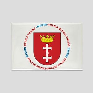 Gdansk Rectangle Magnet