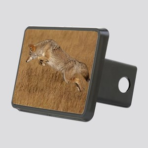 Coyote Flying Rectangular Hitch Cover