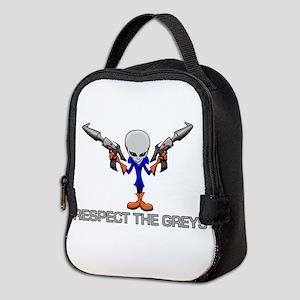 RESPECT THE GREYS Neoprene Lunch Bag