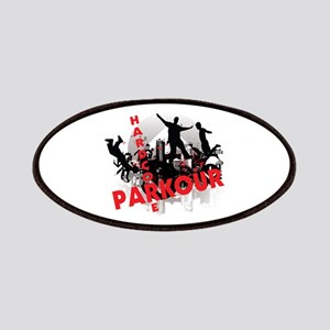 Hardcore Parkour Grunge City Patches