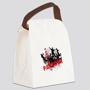 Hardcore Parkour Grunge City Canvas Lunch Bag