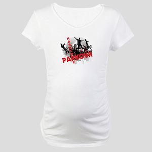 Hardcore Parkour Grunge City Maternity T-Shirt