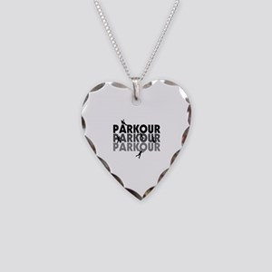 Parkour Free Running Necklace Heart Charm