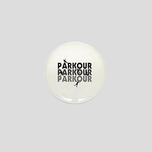 Parkour Free Running Mini Button