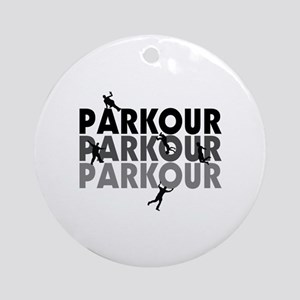 Parkour Free Running Ornament (Round)