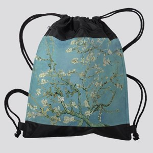 Van Gogh Almond Blossoms Drawstring Bag