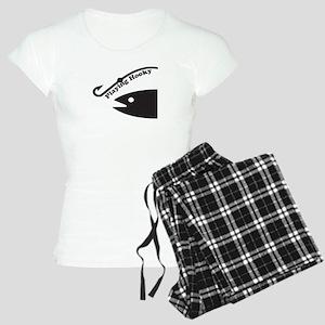 Playing Hooky To Fish Women's Light Pajamas