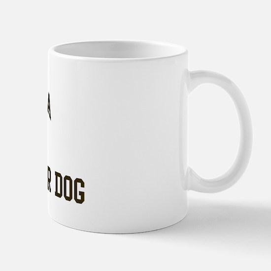 Spanish Water Dog: Owned Mug