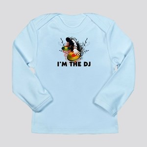 I'm The DJ Rockin The Turntables Long Sleeve Infan