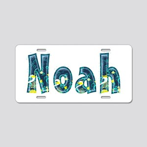 Noah Under Sea Aluminum License Plate
