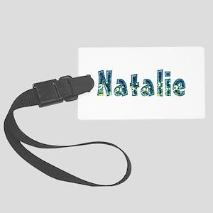 Natalie Under Sea Large Luggage Tag