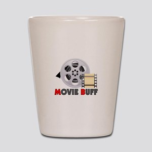 I'm A Movie Buff Shot Glass